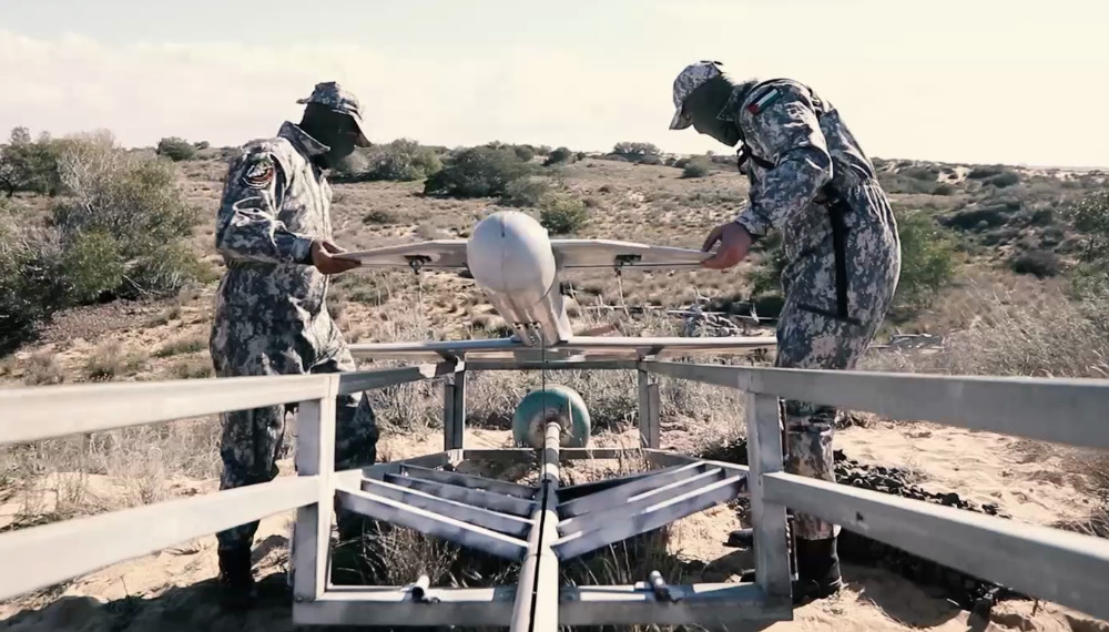 Hamas Suicide Drone, Mortars Targeted Israeli Kissufim Military Base Near Gaza (Videos, Photos)