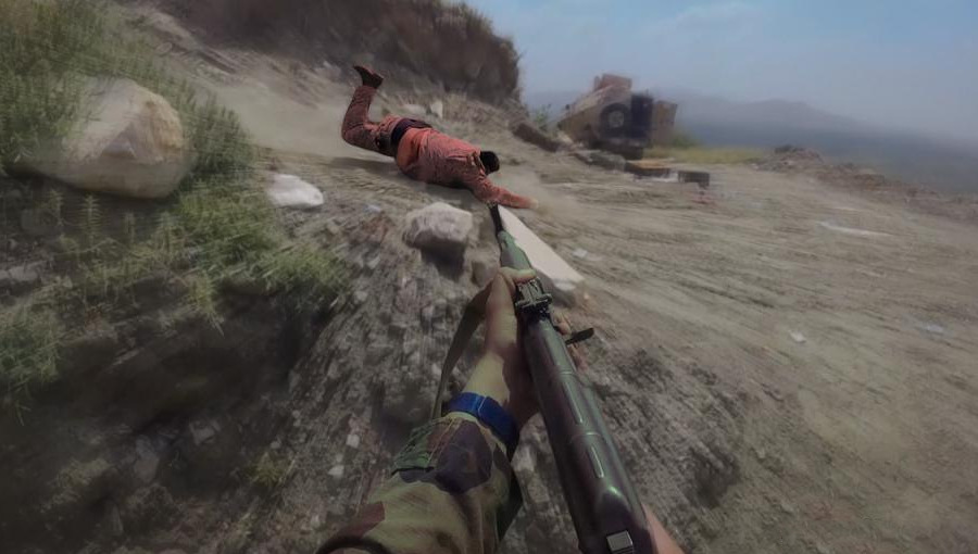 Houthis Released Combat Footage From Recent Operation Deep Inside Saudi Arabia (18+)