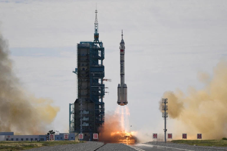 China Launches First Manned Space Flight In Five Years