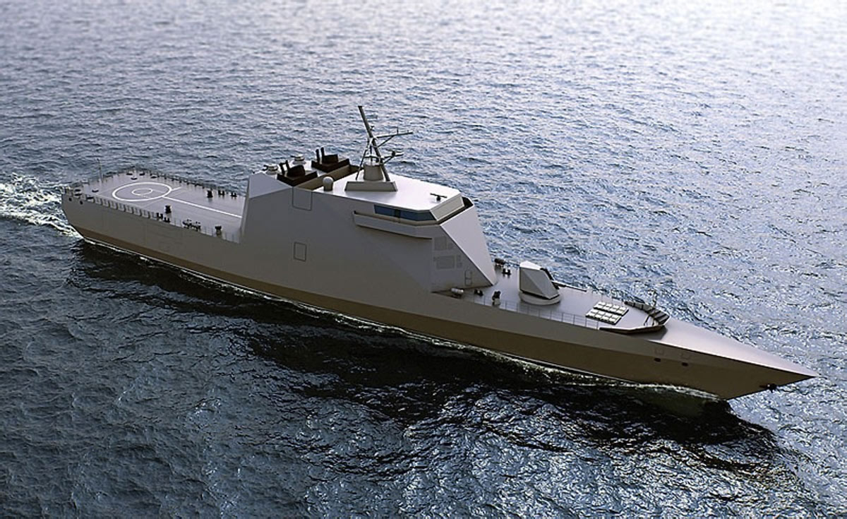 Russia's Project 20386 Guided Missile Corvette To Be Fully Stealth