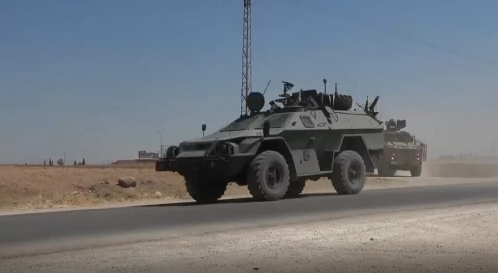 """Russia's KAMAZ-43269 """"Vystrel"""" Spotted Participating In Patrol In Northern Syria For First Time"""