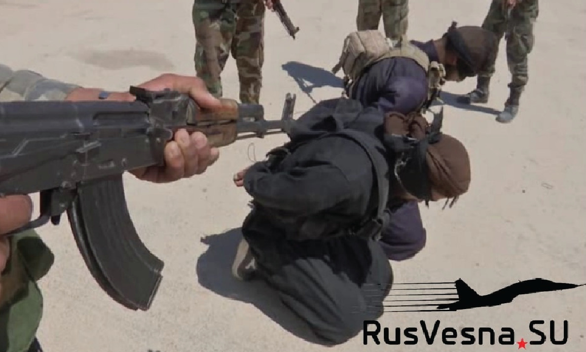 Central Syrian Insurgency: Army Captured Dozens Of ISIS Terrorists (Photos)