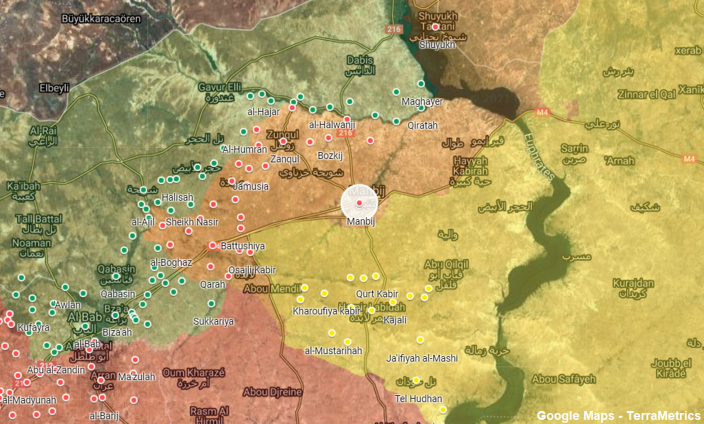 Turkish Forces To Attack Manbij In Northern Syria: Monitoring Group