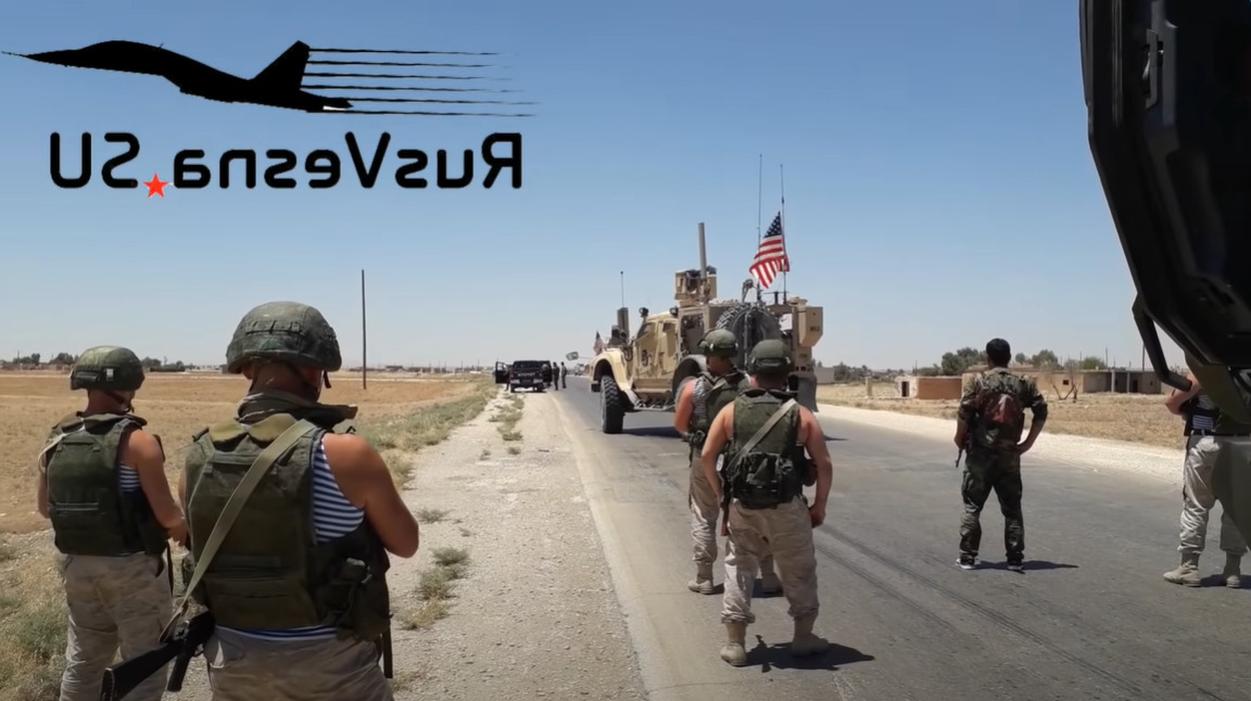 In Video: Russian Forces Blocked US Convoy In Syria's Al-Hasakah