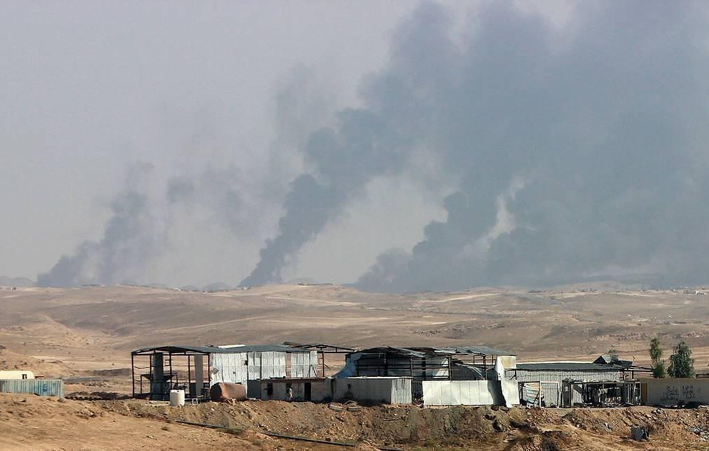 Rockets Strike Balad Air Base Hosting U.S. Contractors In Iraq