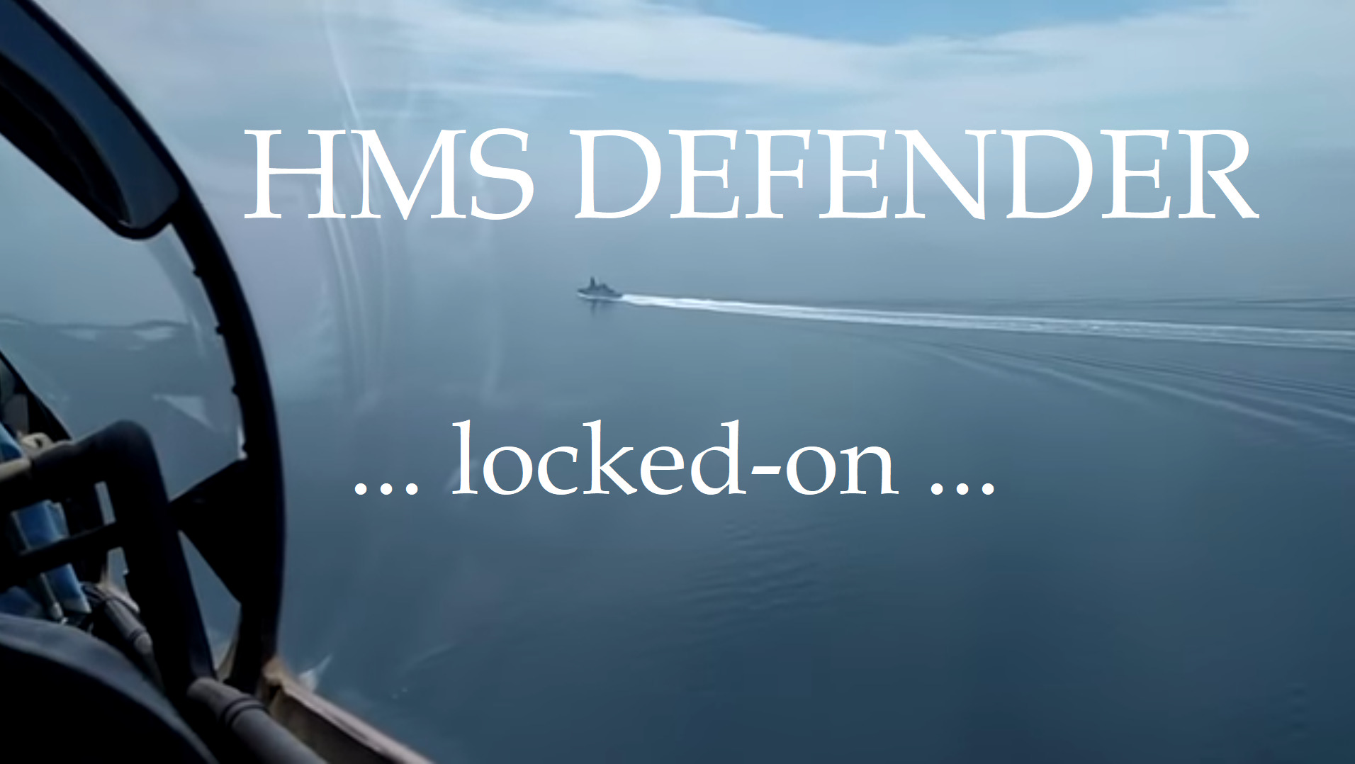 HMS Defender: Coming With Canons Loaded, Fleeing With Latrines Filled