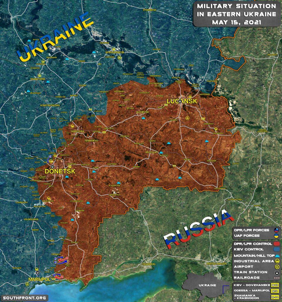 Large Blast Hits Gas Pipeline In Capital Of Lugansk People's Republic (Video)
