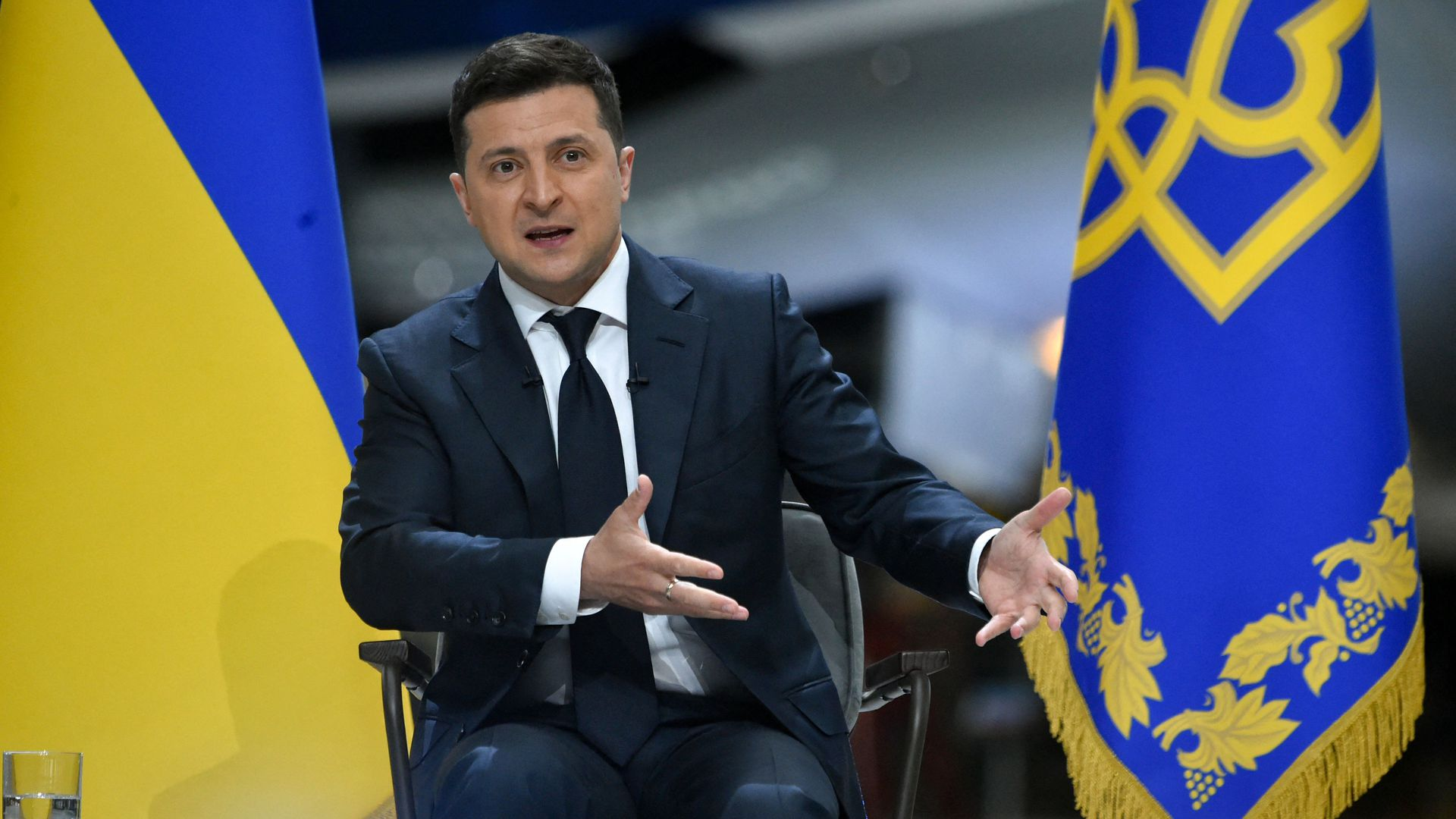 """Zelensky Disappointed With Biden, Hopes It's All Washington's """"Master Plan"""""""