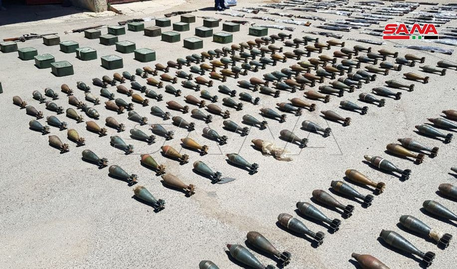 Syrian Authorities Uncovered Loads Of Weapons Left Behind By Militants In Homs (Photos)