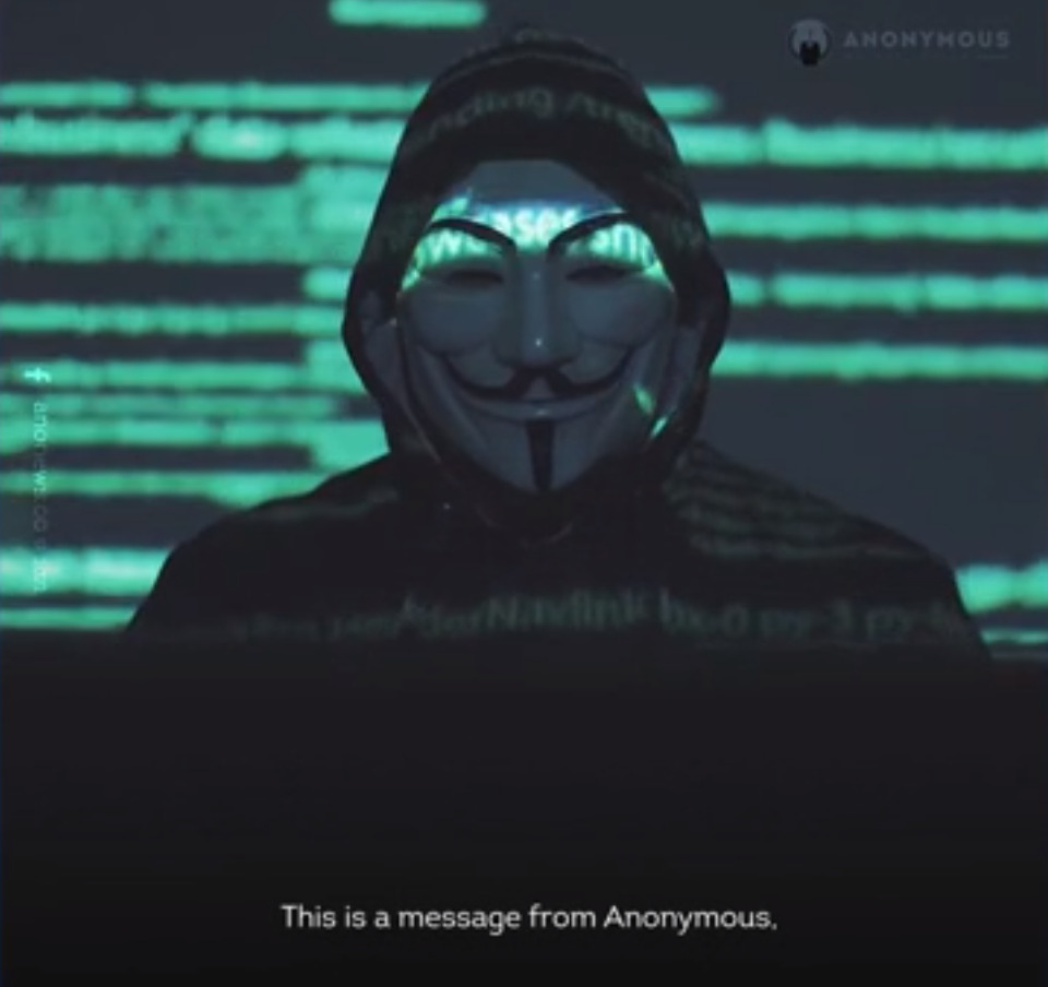 Elon Musk In Crosshairs Of Anonymous Hacker Group