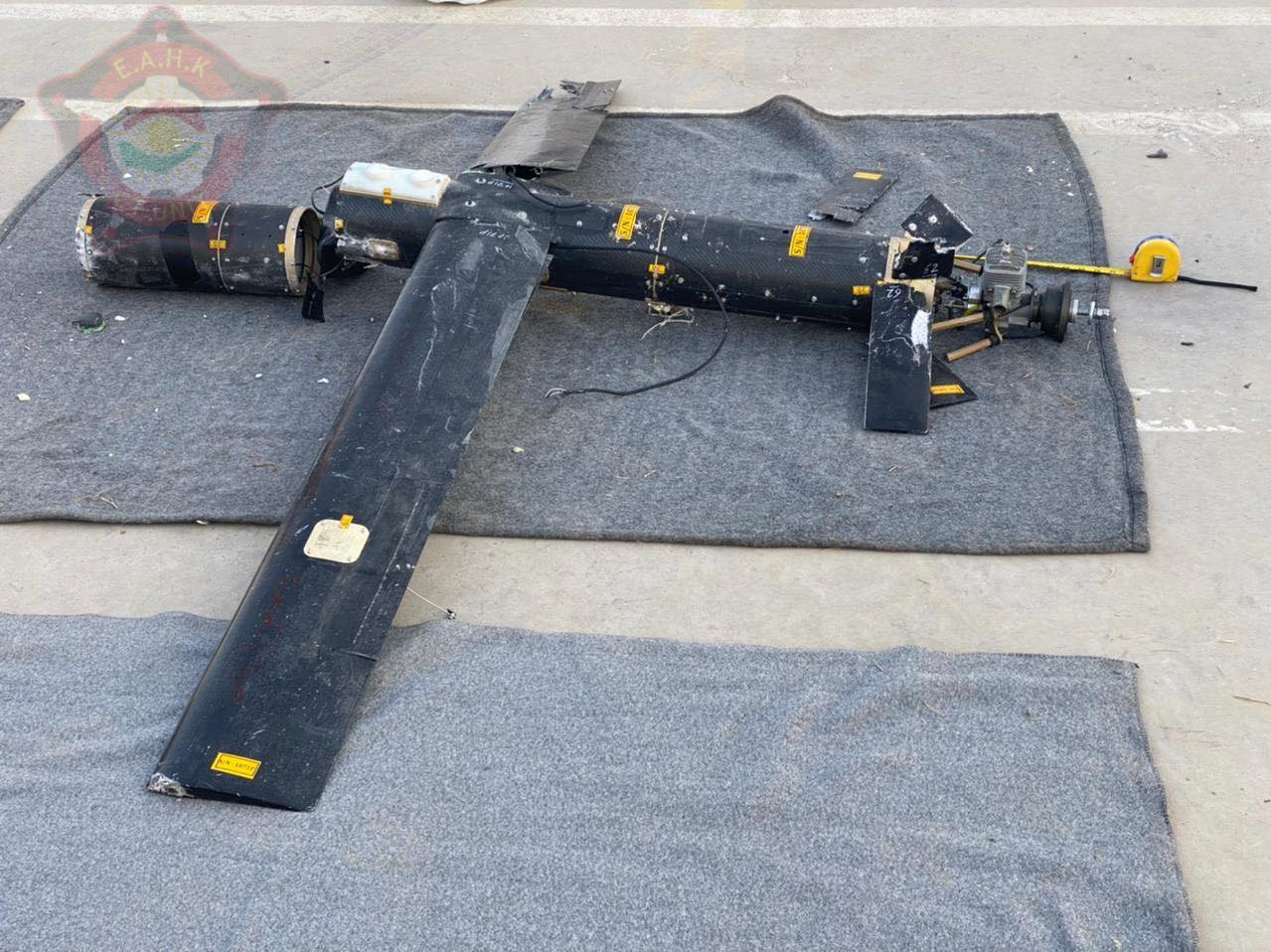Kurdistan Authorities Released Photos Of Mysterious Suicide Drones Used In Recent Attack