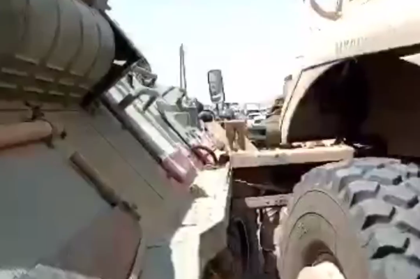 New Video Shows Road Accident Between Russian, US Forces In Northeastern Syria