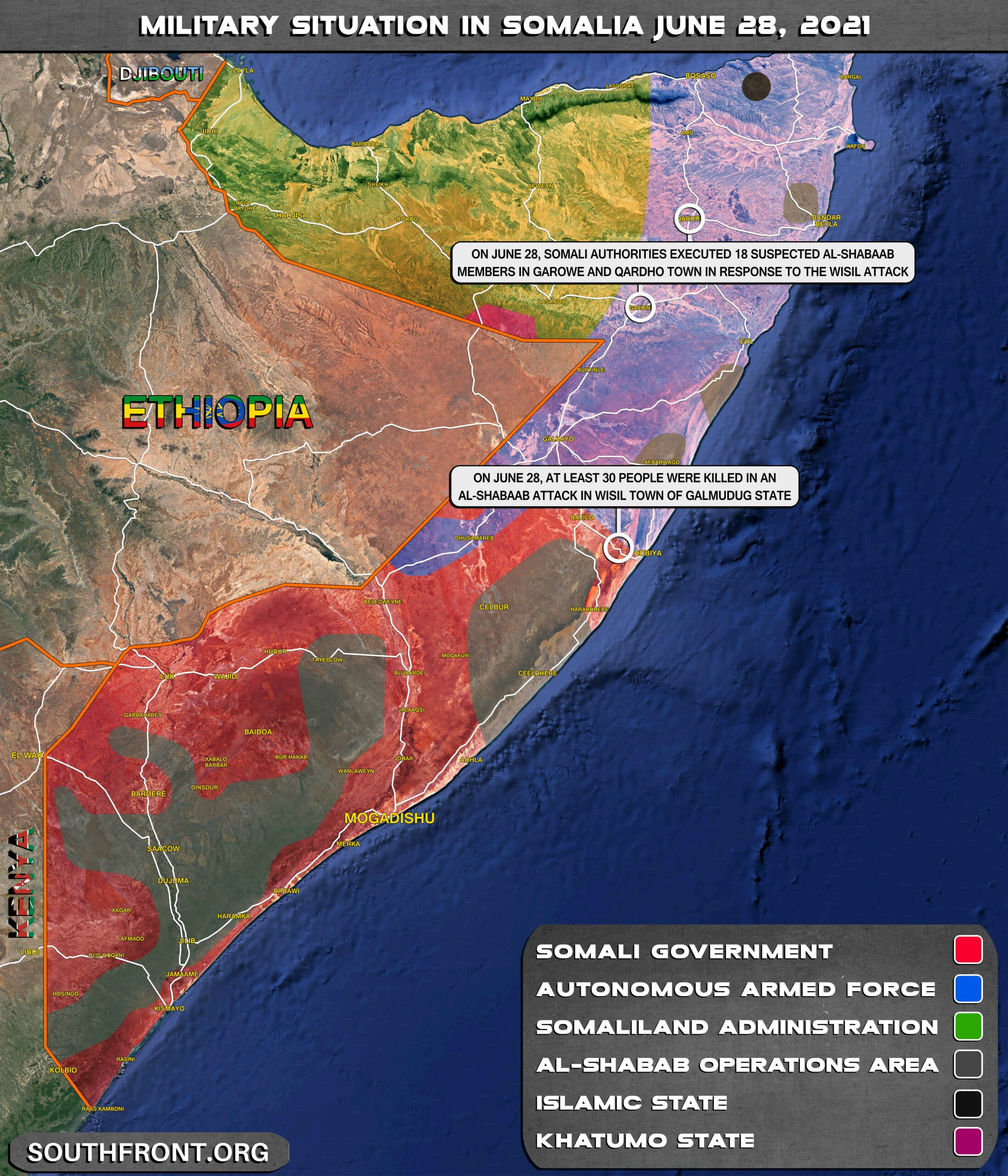 Chaos And Insecurity In Somalia