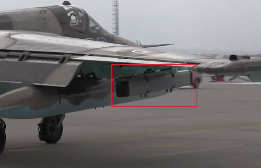 Azerbaijani Su-25 Warplane Test-Fired Homegrown Guided Bomb During Military Exercises In Turkey (Video)