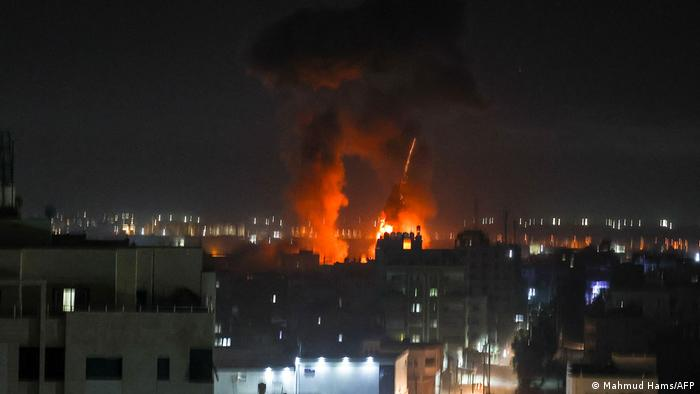 Second Israeli Strikes On Gaza In As Many Days