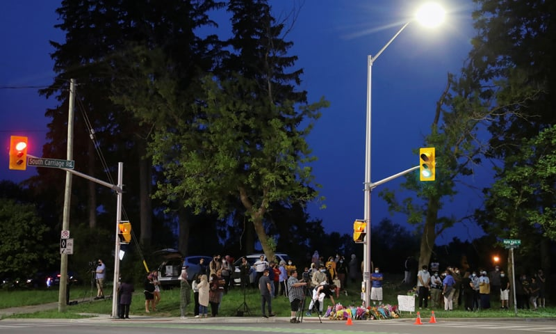Hate Crime Hit-And-Run In Ontario Leaves 4 Dead, 1 Child Seriously Injured