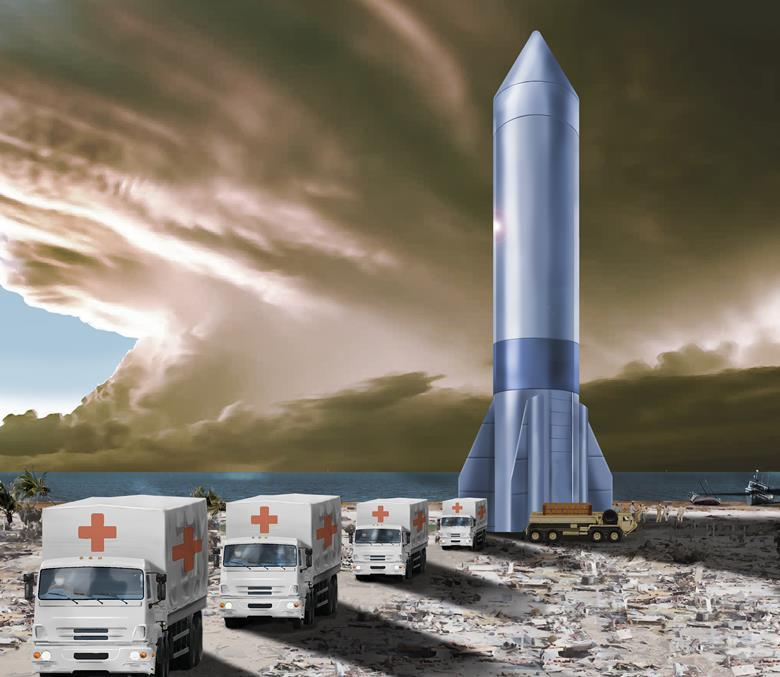U.S. Air Force Aims To Use Rockets For Quick Global Cargo Delivery