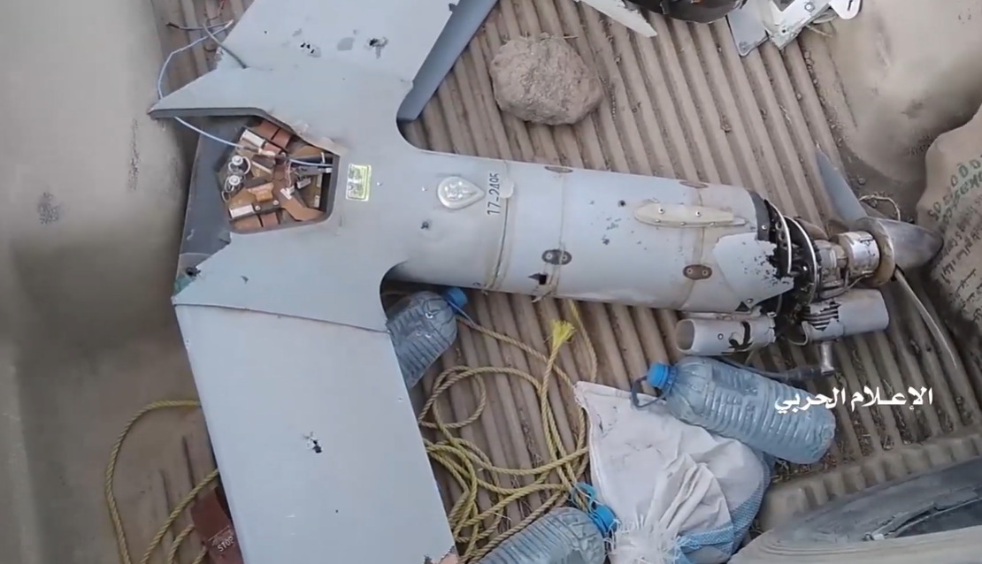 Houthis Showcase Remains Of Two US ScanEagle Drones Shot Down Over Yemen Recently