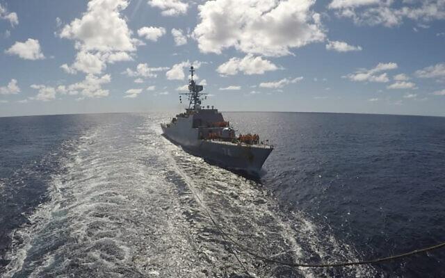 Iranian Warships Enter The Atlantic, Final Destination Still Unknown