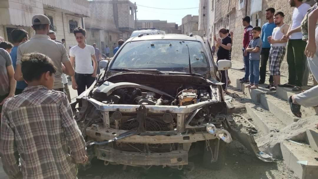 Explosion Hit The City Of Al-Bab North Of Aleppo