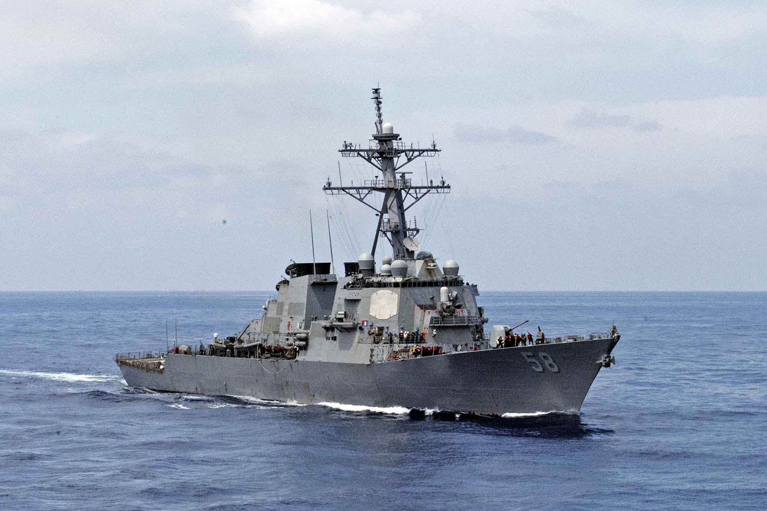 USS Laboon, Other NATO Destroyers Move Towards The Black Sea
