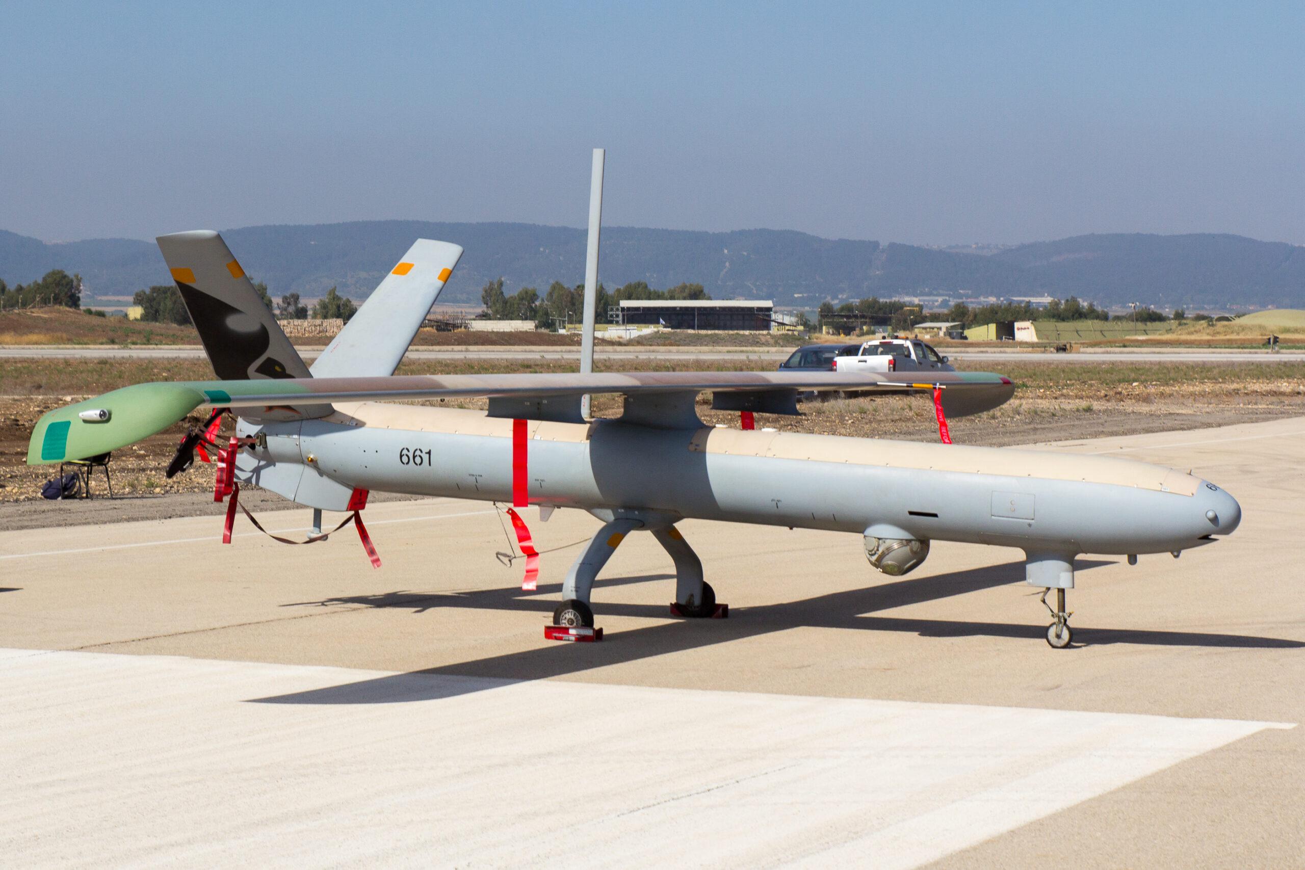 Israeli Hermes 450 Armed Drone Spotted Over Hezbollah Stronghold In Lebanon