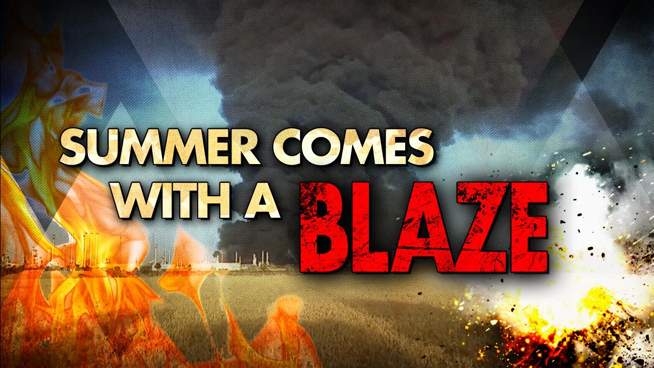 Im Iran startet der Sommer mit Feuer