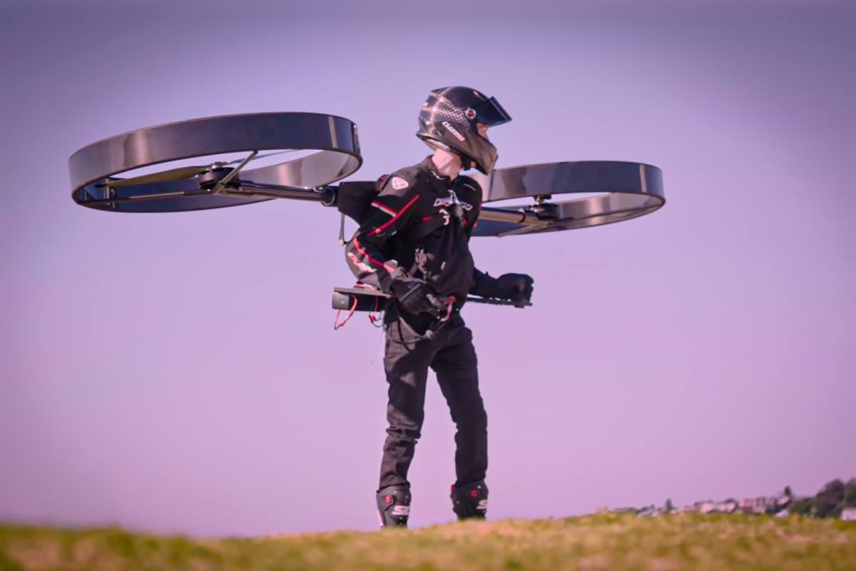 CopterPack's Affordable Jet Pack Experience In The Human Flight Boom