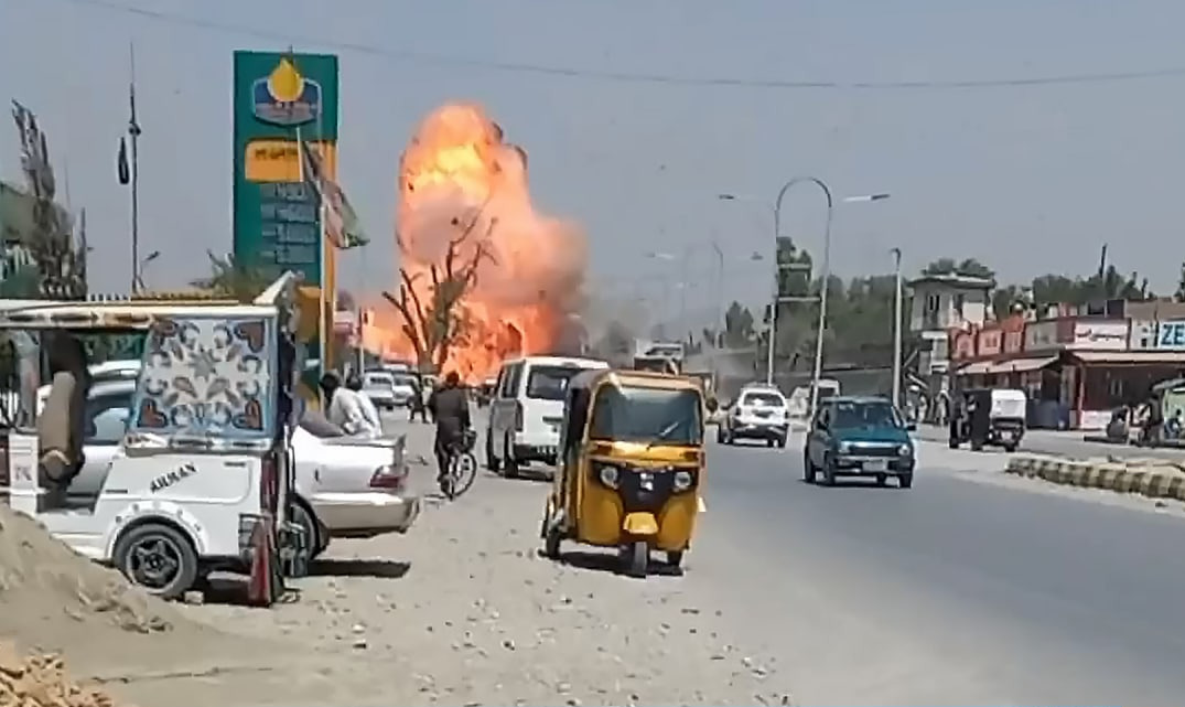 ISIS Claims Responsibility For Deadly Bombing In Afghanistan's Jalalabad (Video)