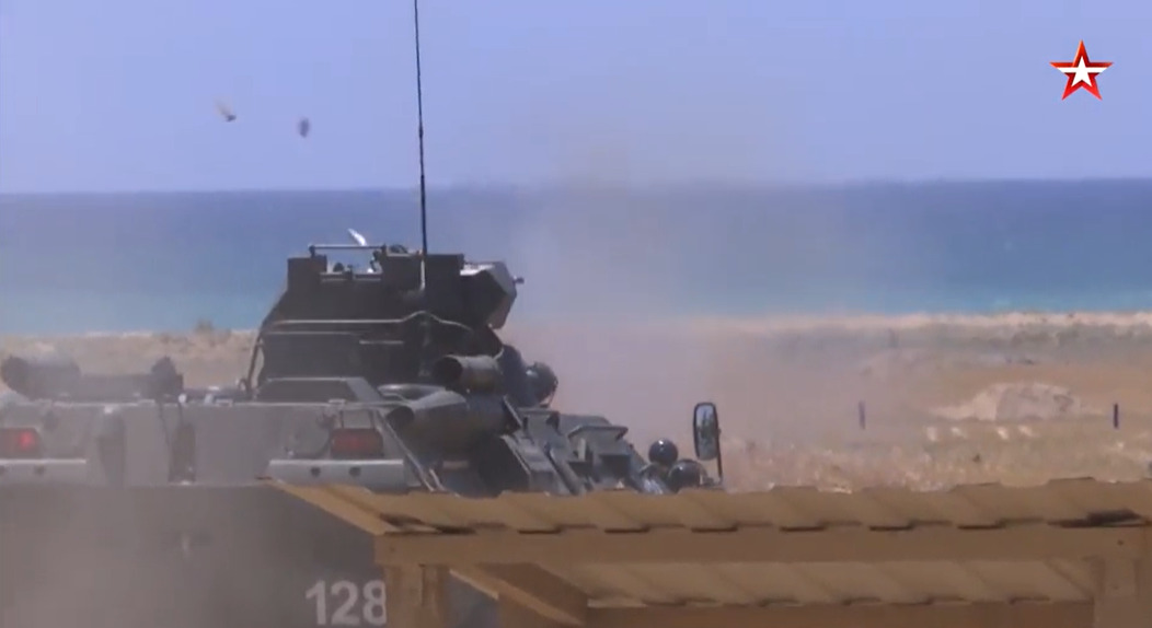 In Video: Syrian, Russian Forces Repelled 'Naval Attack' During Joint Exercise