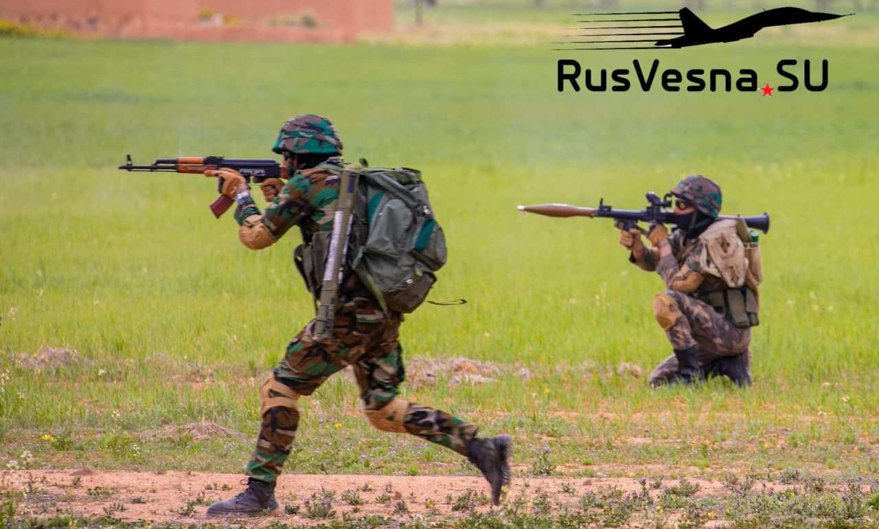 In Video: Russian Military Advisors Train Syrian Special Forces In Aleppo