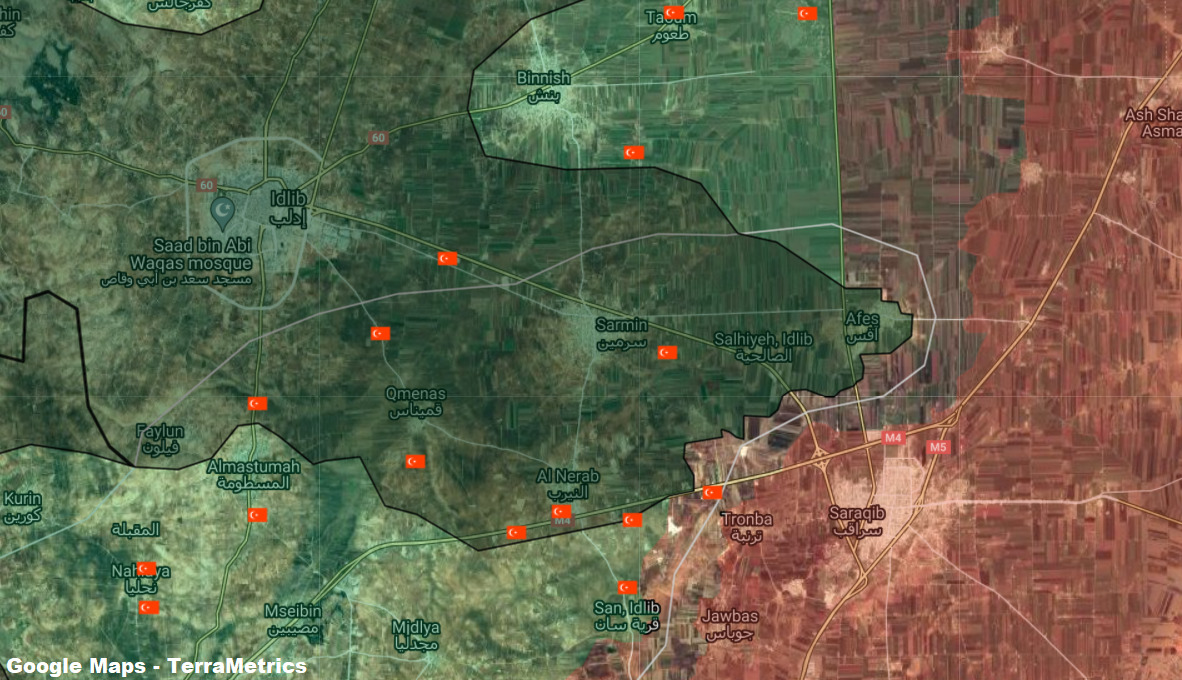 Greater Idlib: Syrian Army Shells More Turkish Posts Following Ceasefire Violations