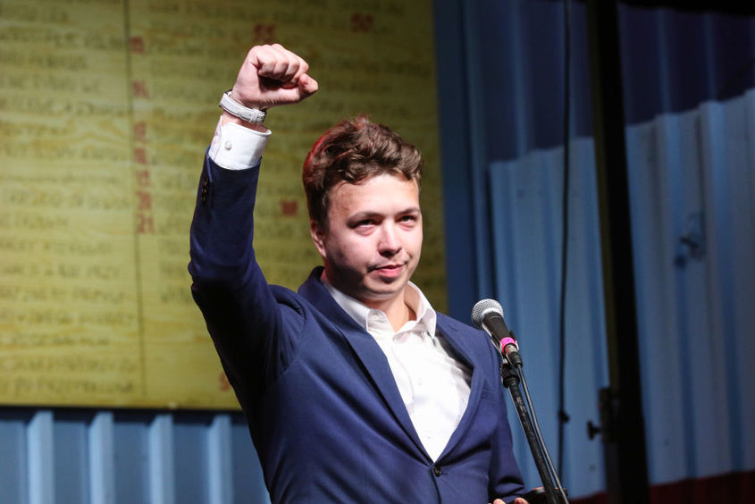 Roman Protasevich Claims Belarusian Opposition Might Betray Him