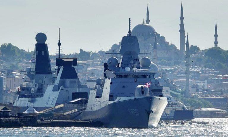 British Destroyer, Dutch Frigate Entered Black Sea Following US Laboon