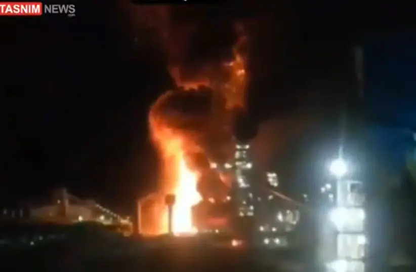 A Fiery Coincidence: Steel Plant Catches Fire After Explosion In Southern Iran