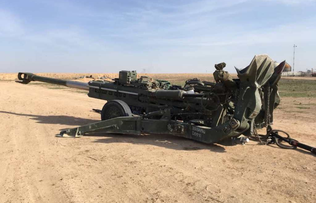 US Forces Held Live-Fire Exercise With Heavy Artillery At Key Syrian Oil Field (Photos, Video)