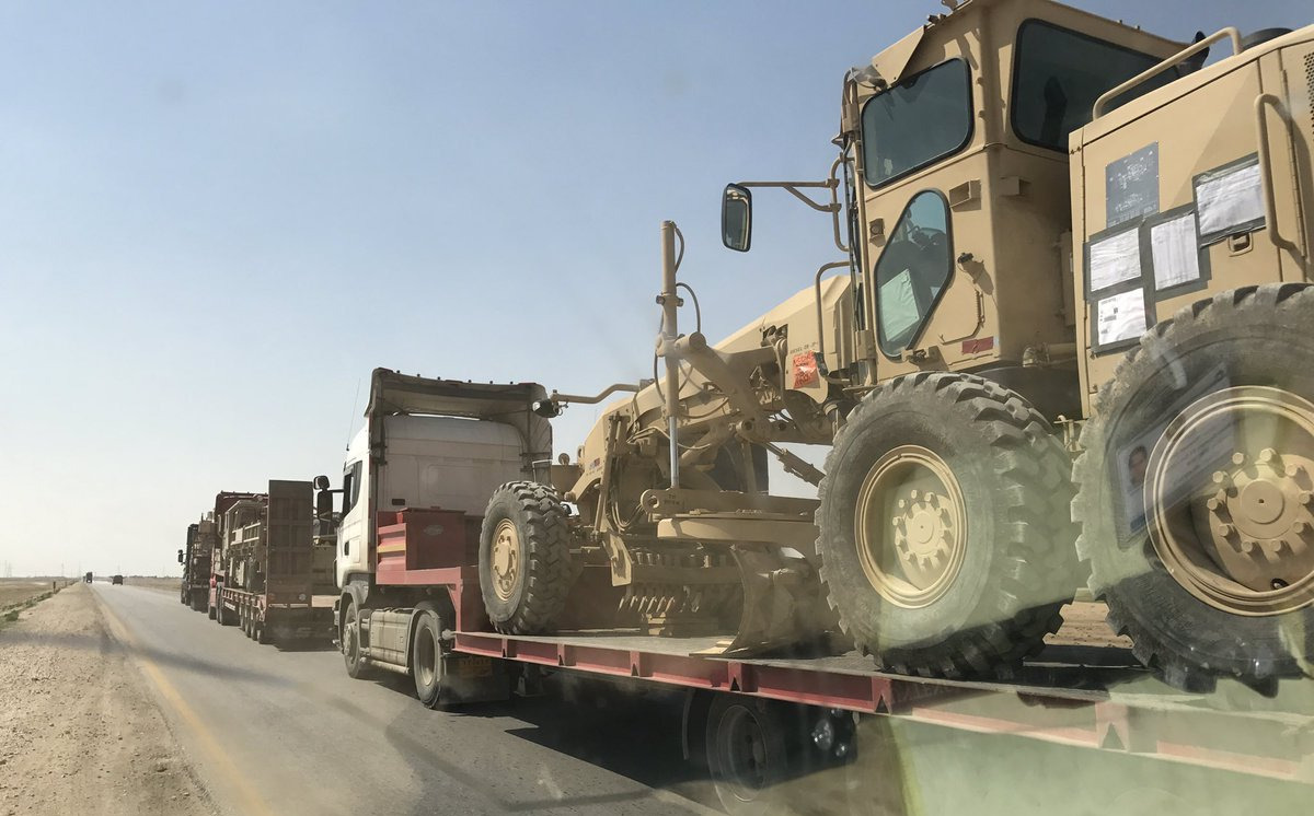 Four US Supply Convoys Attacked In Span Of Two Days In Iraq