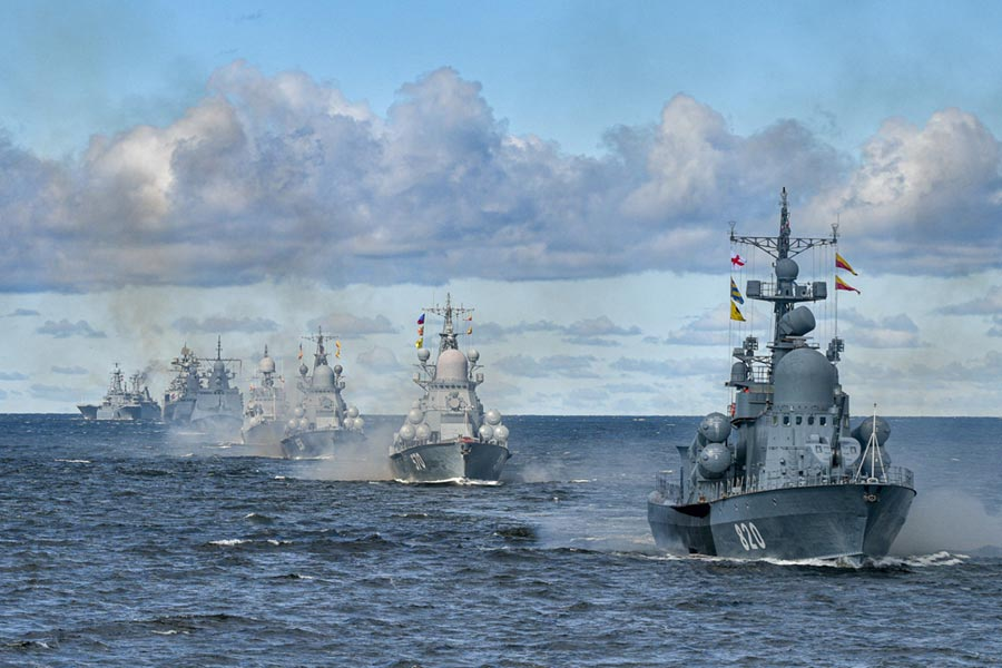 Russia Prepares For Its Main Naval Day Parade (Photos, Maps, Videos)