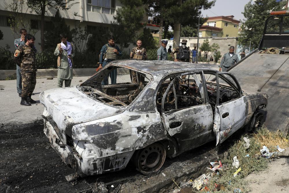 Three Rockets Hit Near Kabul Presidential Palace During Eid Prayers