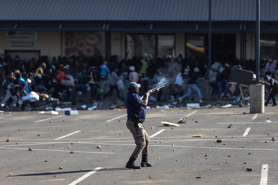 South Africa Mulls Deploying 25,000 Troops To Quell Riots
