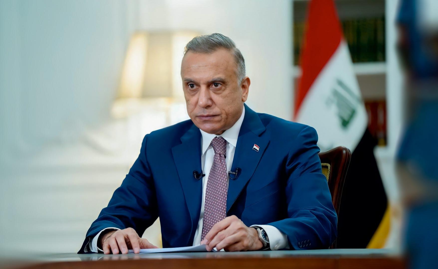 Iraqi Prime Minister Visits Washington In Hopes Of U.S. Troop Withdrawal