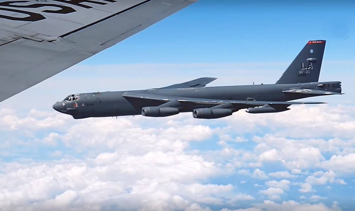 Russian Fighter Jets Intercept B-52H Bombers Near Border For Second Time In July
