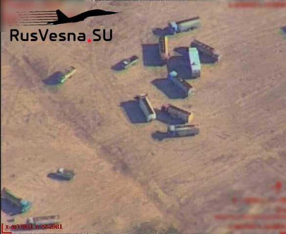 Aerial Images Expose Illegal Oil Trafficking Between Kurdish Forces, Turkey's Proxies In Syria