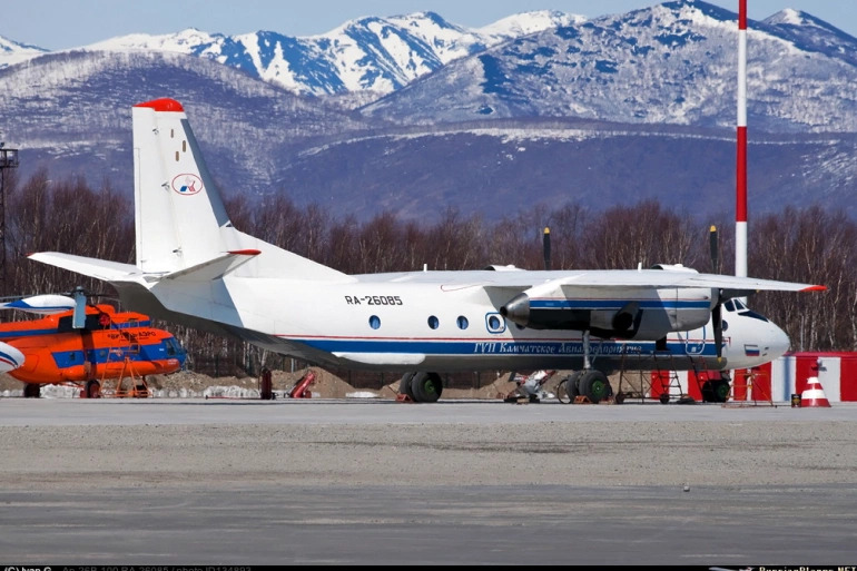 Russian An-26 Passenger Plane Disappears Near Kamchatka, 28 People Missing (UPDATED, Video)