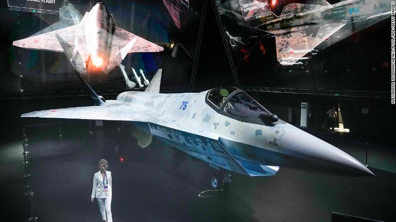 """Sukhoi's """"Checkmate"""" Single-Engine Multi-Role Fighter Jet Revealed (Videos)"""