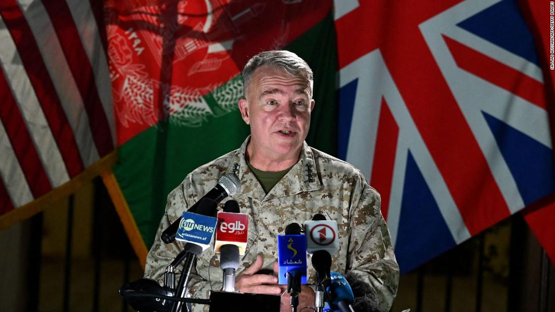U.S. To Continue Airstrikes On Taliban In Support Of Afghan's Army: Gen. McKenzie
