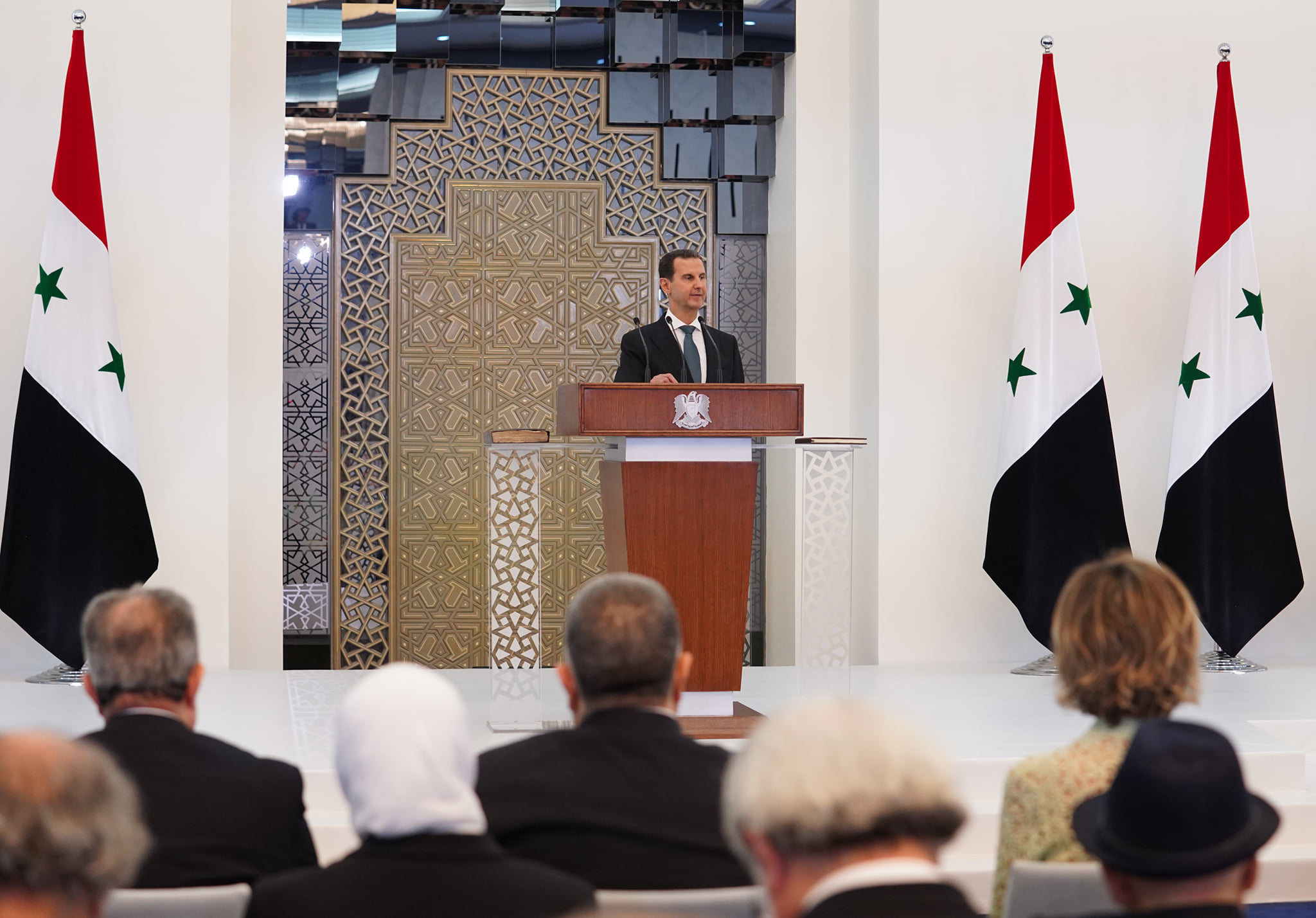 Assad Vows To Liberate Syrian Territory Occupied By US, Turkey As He Starts 4th Presidential Term