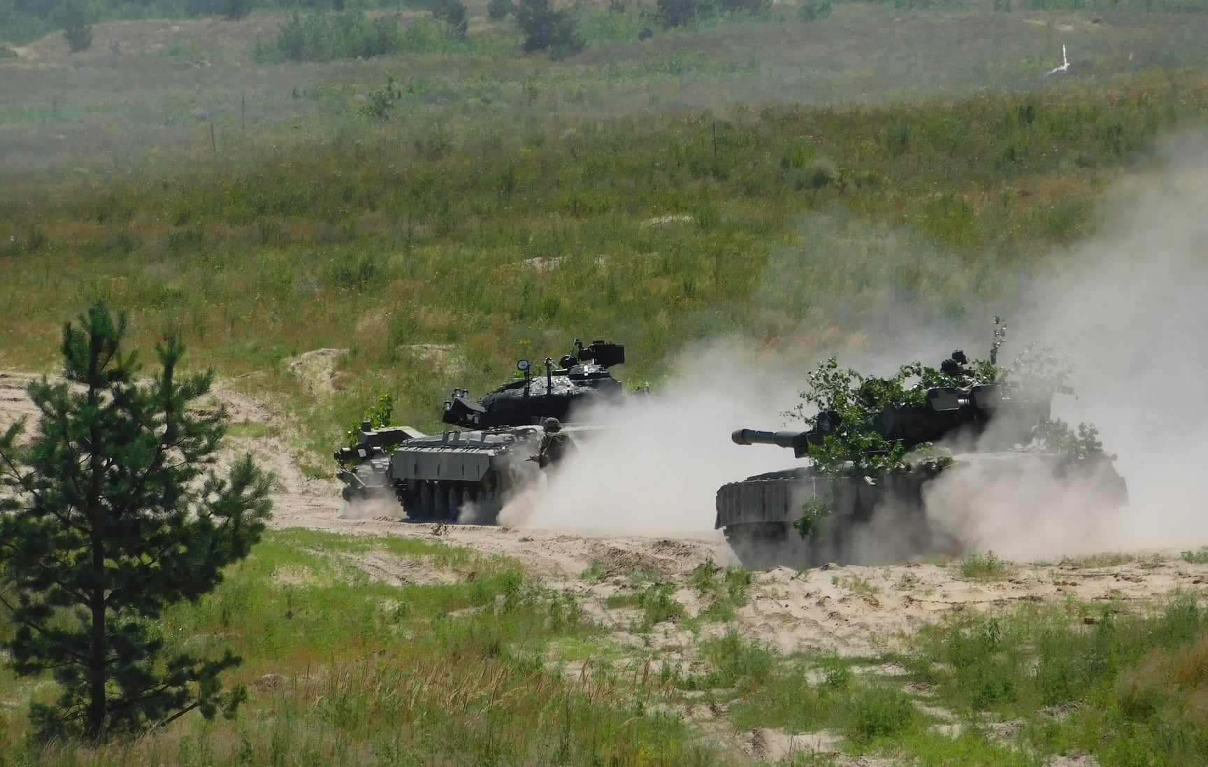 Ukraine's Armed Forces Carry Out Military Drill Along Russia's Border