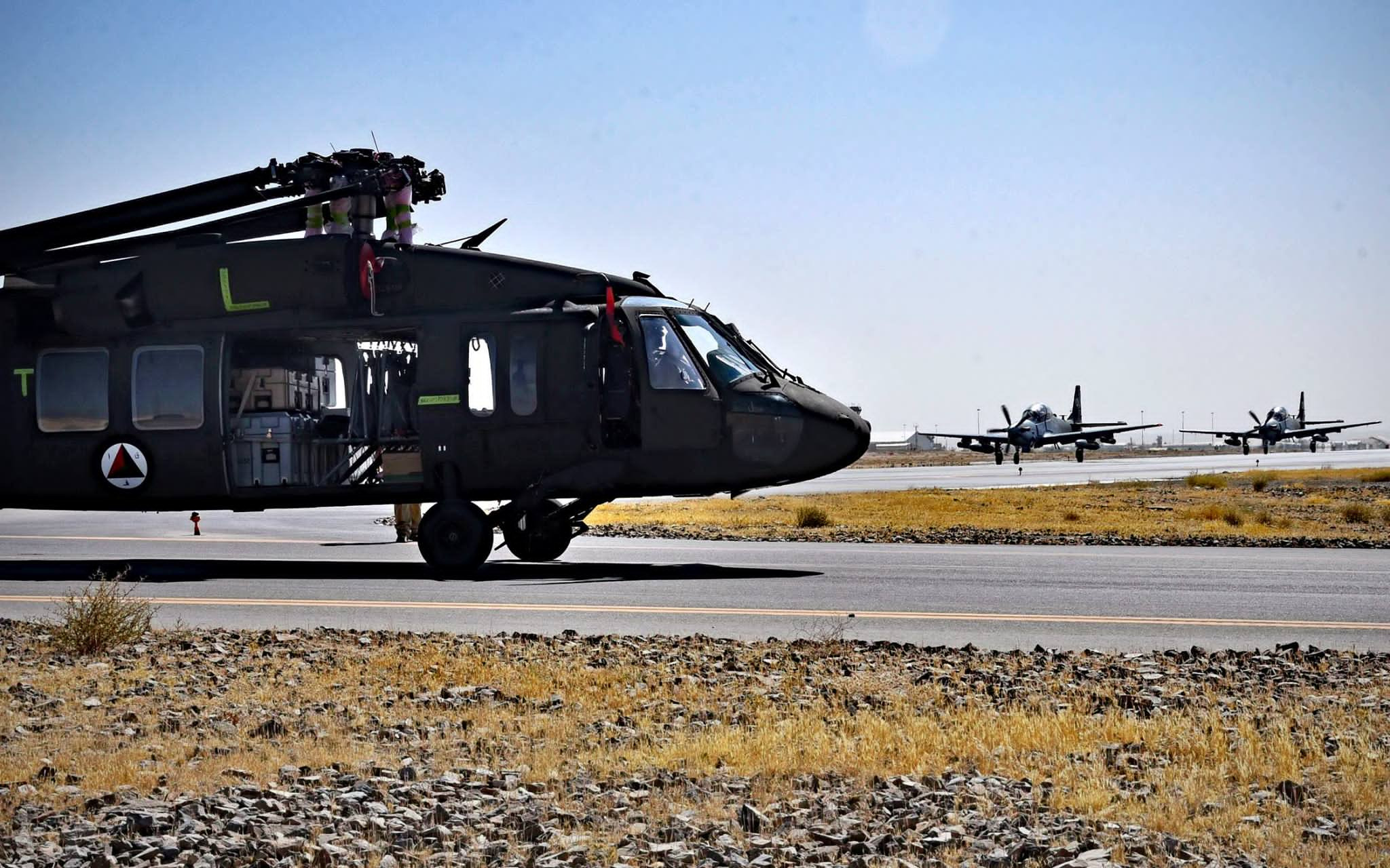 Taliban Claims Black Hawk Helicopter Destroyed In Another 'Tactical Attack' On Afghanistan's Kunduz Airport (Photos, Video)