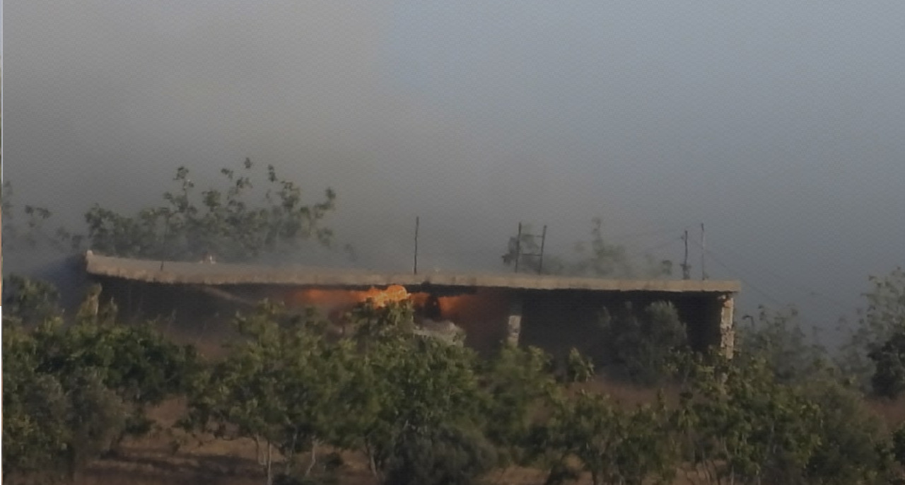 Turkish Proxies Destroyed Battle Tank In Southern Idlib, Syrian Army Struck Back (Photos)